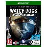 Watch Dogs Complete Edition - Xbox One - Konzoljáték