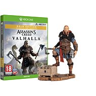 Assassins Creed Valhalla - Gold Edition - Xbox One + Eivor figura - Konzol játék