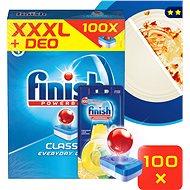 FINISH Classic 100 db + DEO Lemon - Mosogatógép tabletta