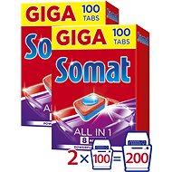 SOMAT All in 1 Tabs 2× 100 db - Mosogatógép tabletta