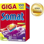 SOMAT All in 1 Lemon & Lime 100 db - Mosogatógép tabletta