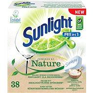 SUNLIGHT AiO Nature (38 db) - Öko mosogatógép tabletták