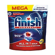 FINISH All in 1 Max Lemon 94 db - Mosogatógép tabletta
