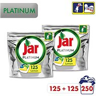 JAR Platinum Box 2 × 125 db - Mosogatógép tabletta