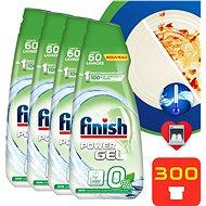 FINISH 0% mosogatógép-gél 5 × 900 ml - Öko mosogatógép gél