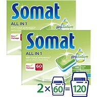 SOMAT All in One Pro Nature 2 × 60 db - Öko mosogatógép tabletták