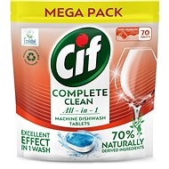 CIF All in 1 Regular 70% Naturally 70 db - Öko mosogatógép tabletták