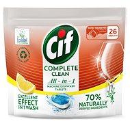 CIF All in 1 Lemon 70% Naturally 26 db - Öko mosogatógép tabletták