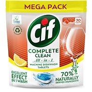 CIF All in 1 Lemon 70% Naturally 70 db - Öko mosogatógép tabletták