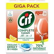 CIF All in 1 Lemon 70% Naturally 102 db - Öko mosogatógép tabletták