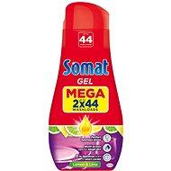 SOMAT Gel All in 1 Lemon 2× 790 ml (88 adag) - Mosogatógép gél