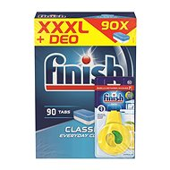 FINISH Classic 90 db + mosogatógép frissítő citrom és lime - Mosogatógép tabletta