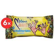 MILÉNE antibakteriális nedves törlőkendők 6 × 15 db - Nedves törlőkendők