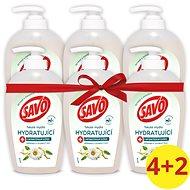 SAVO folyékony hidratáló szappan antibakteriális összetevővel rendelkező kamilla- és jojobaolajjal 6 - Folyékony szappan