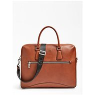 GUESS Scala Crossbody Messenger Bag - Brown - Táska