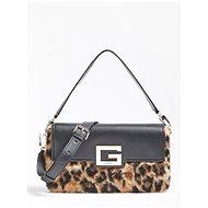 GUESS Brightside Shoulder Bag -Leopard - Kézitáska