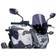 PUIG RACING sötét füstszínű, HONDA NC 750 S (2014-2019) modellekhez - Motorkerékpár plexi-szélvédő
