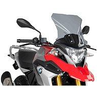 PUIG TOURING füstszínű, BMW G 310 GS (2017-2019) modellekhez - Motorkerékpár plexi-szélvédő