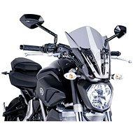 PUIG NEW. GEN TOURING füstszínű, YAMAHA MT-07 (2014-2017) modellekhez - Motorkerékpár plexi-szélvédő
