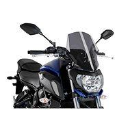PUIG NEW. GEN SPORT sötét füstszínű, YAMAHA MT-07-hez (2018-2019) - Motorkerékpár plexi-szélvédő
