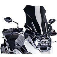 PUIG TOURING fekete, BMW R 1250 GS (2019) járművekhez - Motorkerékpár plexi-szélvédő