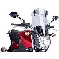 PUIG TOURING kiegészítő füstszínű plexi HONDA NC 750 S-hez (2014-2019) - Motorkerékpár plexi-szélvédő