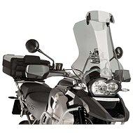 PUIG állítható clip-on kiegészítő plexi motorkerékpárhoz, füstszínű