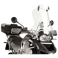 PUIG motorkerékpár kiegészítő, átlátszó plexi, állítható clip-on