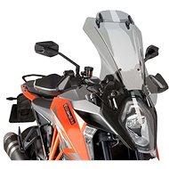 PUIG TOURING kiegészítő füstszínű plexi KTM Super Duke 1290 (R)-hez (2016-2018) - Motorkerékpár plexi-szélvédő