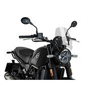 PUIG NEW. GEN SPORT átlátszó, BENELLI Leoncino 502 (2016-2019) modellekhez - Motorkerékpár plexi-szélvédő