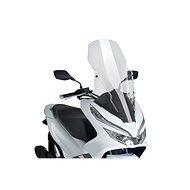 PUIG V-TECH LINE TOURING átlátszó, HONDA PCX 125-hez (2018-2019) - Motorkerékpár plexi-szélvédő