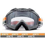 ARIETE ADRENALINE PRIMIS PLUS szürke-narancssárga terepjáró motoszemüveg - Szemüveg