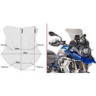KAPPA plexi-szélvédő BMW R  1200 GS / Adventure (16-18) / 1250 GS / Adventure (19) - Motorkerékpár plexi-szélvédő