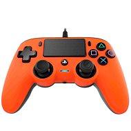 Nacon Wired Compact Controller PS4 - narancssárga - Kontroller