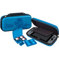BigBen Official Travel Case Zelda kék - Nintendo Switch - Tok