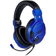 BigBen PS4 Stereo-Headset v3 - kék - Gamer fejhallgató