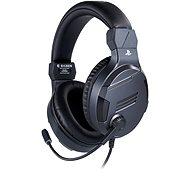 BigBen PS4 Stereo-Headset v3, titán - Gamer fejhallgató