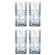 Nachtmann SQUARE Magas falú pohár készlet 4 db - Pohár hideg italokhoz