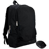 """ACER Notebook Starter Kit - 15.6"""" fekete hátizsák  + fekete vezeték nélküli egér - Hátizsák"""