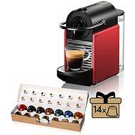 NESPRESSO De'Longhi EN 124 R, piros - Kapszulás kávéfőző