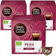 NESCAFÉ Dolce Gusto Peru Cajamarca Espresso, 3 csomag
