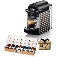 NESPRESSO Krups Pixie XN304T10, titán - Kapszulás kávéfőző