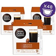 NESCAFÉ® Dolce Gusto® Grande Intenso - kávékapszulák - kartondoboz 3x16 db