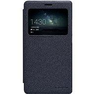 NILLKIN Sparkle S-View Huawei Mate S telefonhoz, fekete - Mobiltelefon tok