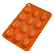 Szilikon sütőforma 12 TOJÁS - narancsszín - Sütőforma