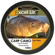 Sema Carp Camo Brown 1200 m - Horgászzsinór
