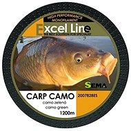 Sema Carp Camo Green 1200 m - Horgászzsinór