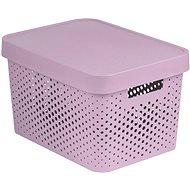 Curver INFINITY DOTS doboz 17L - rózsaszín - Box