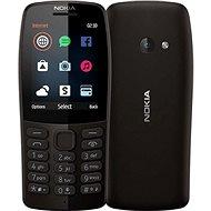 Nokia 210, fekete - Mobiltelefon
