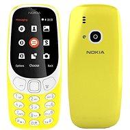 Nokia 3310 (2017) Dual SIM, sárga - Mobiltelefon
